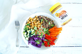 Thai Salad Bowl with Almond Butter