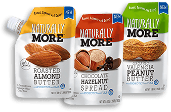 Natural Nut Butters Almond, Peanut, Hazelnut by Naturally More
